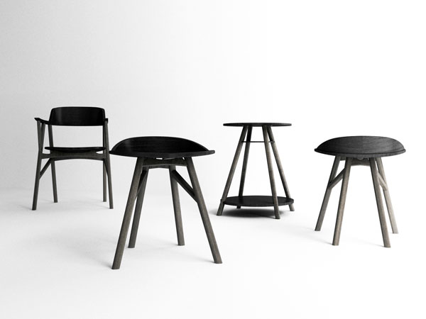 SINsa Chair Series by Dongsung Jung