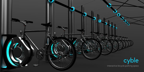 Cyble - Bicycle Stand by Subinay Malhotra