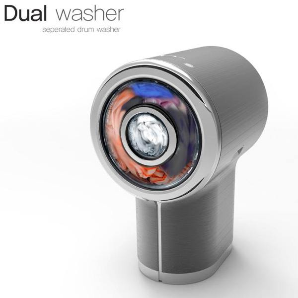 Dual Washer – Washing Machine Concept by Ji Young Song