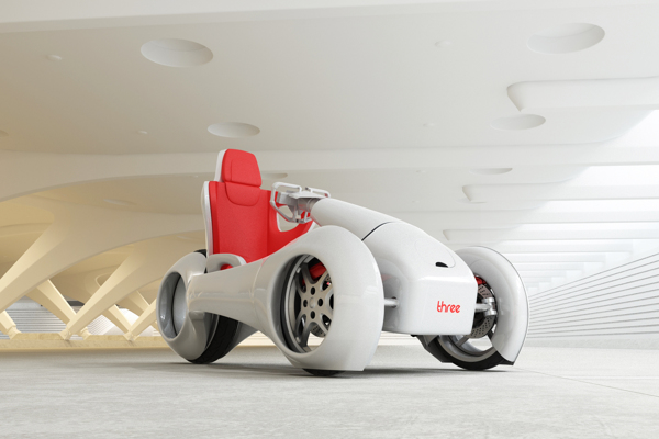 nThree - Concept Vehicle by Hussain Almossawi & Marin Myftiu