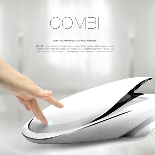 COMBI – Robotic Vacuum Cleaner by Gwang Chae Jung