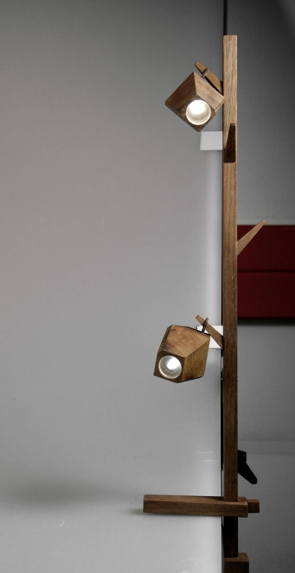 Pod - Clamp Lamp by Ashleigh Stephens