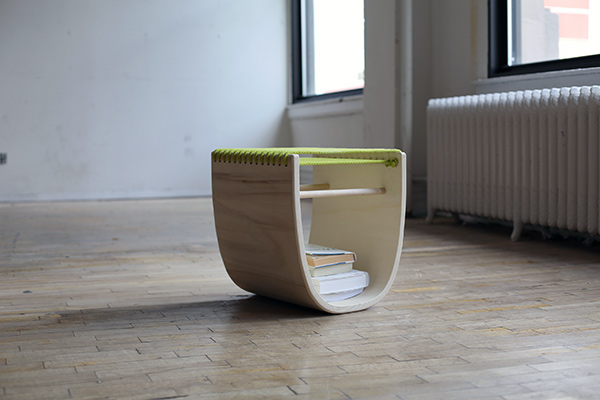 U-Stool by Richard Clarkson, Zena Verda Pesta and Clay Kippen