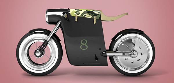 Monocasco E-Bike by ART-TIC