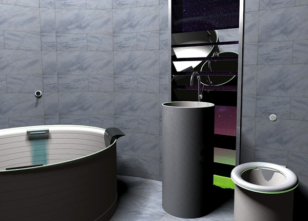 Reece Inspired by Aurora Australis Bathroom by Deb Wallace