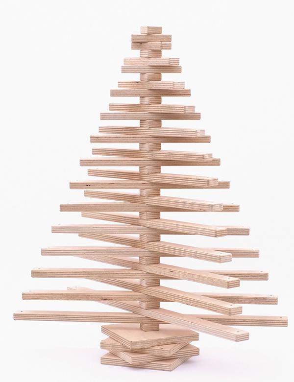 One two tree yanko design - Sapin de noel original en bois ...