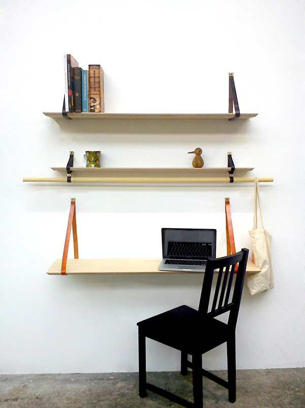 Triabook - Shelving System by Elemotions