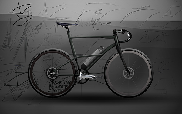 Cafe Fixie Hybrid by Andre Fangueiro