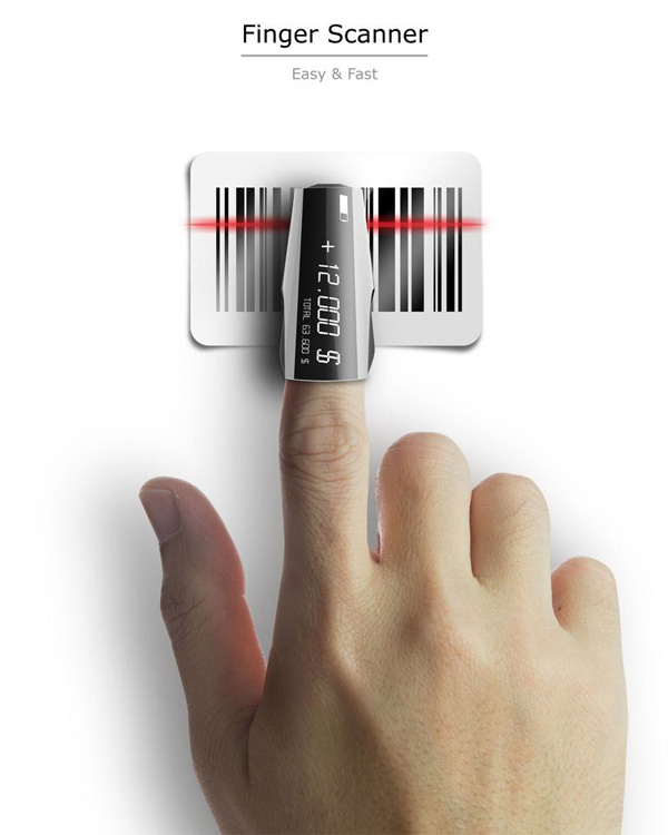 Finger Scanner – Barcode Scanner by Seokmin Kang