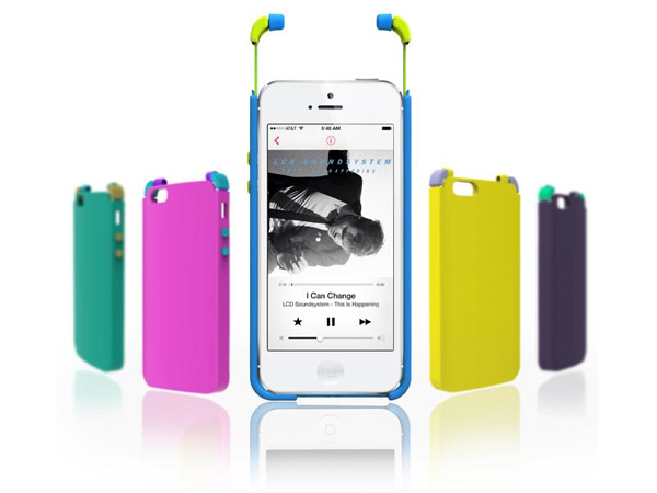 Ice - Integrated Case Earphone by Yuljae Lee