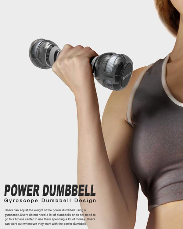 Power Dumbbell by Jun Young Choo