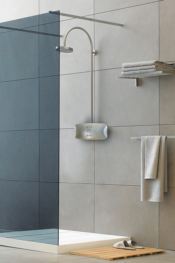 ReFresh - Water Saving Shower Unit by David Bruer, Jonas Kristiansson, Jonathan Hedin, Daniel Amosy, Petter Polsson and David Lamm
