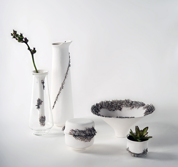 CeraMetal - Ceramic & Metal Objects by Einat Kirschner