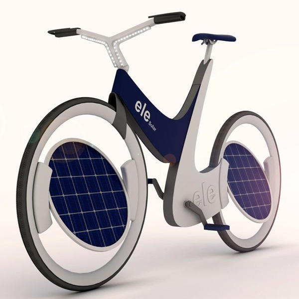 love this solar bike yanko design. Black Bedroom Furniture Sets. Home Design Ideas