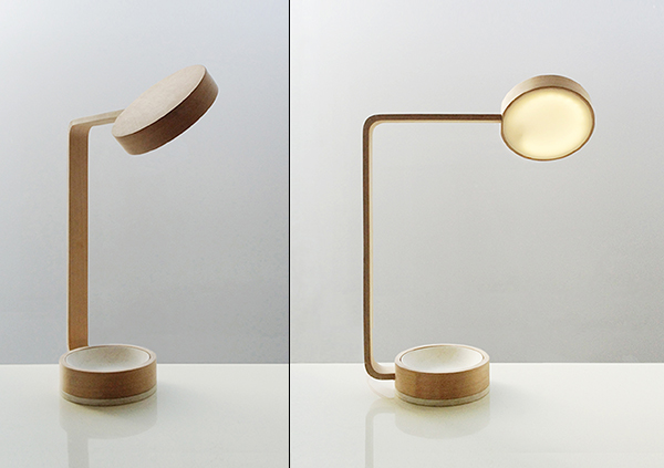 Apsis - Lamp by Zak Stratfold