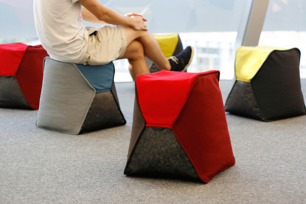 PP Capsule - Recycled Seating by KaCaMa Design Lab
