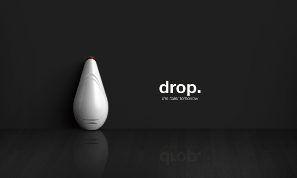 Drop - Toilet of Tomorrow by Pengfei LI