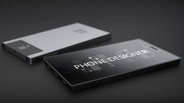 Microsoft Windows Surface Phone Concept by Phone Designer aka Jonas Dahnert
