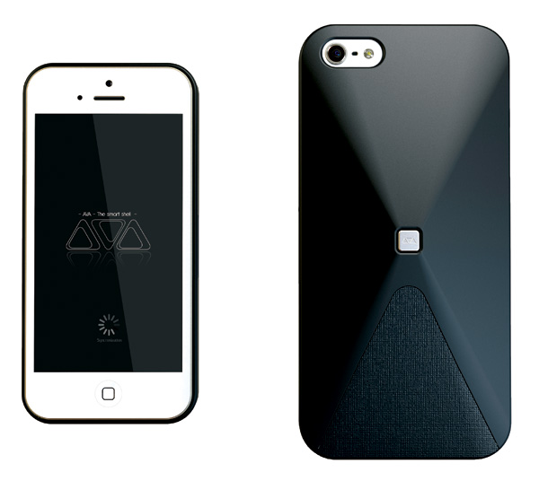 AVA – Smartphone Cover With Mood Status Update For Social Networks by Germain Verbrackel