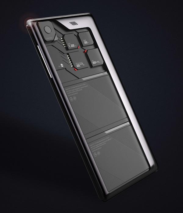 ECO-MOBIUS – Modula Phone concept by Peter Gao, Xiao Qihu, Able Chen, Chen Cuifeng, Fiona Chen, Chen Yan, Dong Feng, Xu Yuanyuan, Yu Chaoyang & Yu Yue from ZTE Corporation