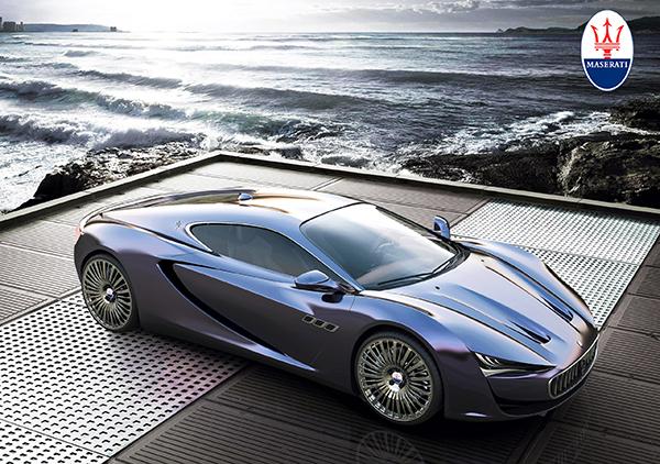 Maserati Bora Concept by Alexander Imnadze