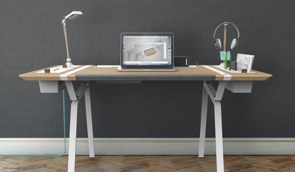 Desk Concept by Francois Dransart