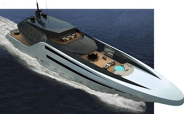 Anaconda Yacht by Juan Ortiz Rincon