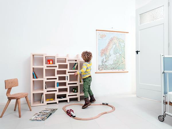 REK Bookcase Junor by Reinier de Jong