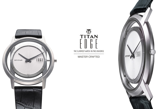 Titan Edge Slimmest Watch In The Universe