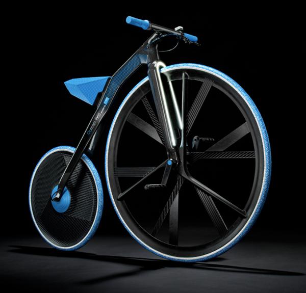 Concept 1865 E-Velocipede by BASF & DING3000
