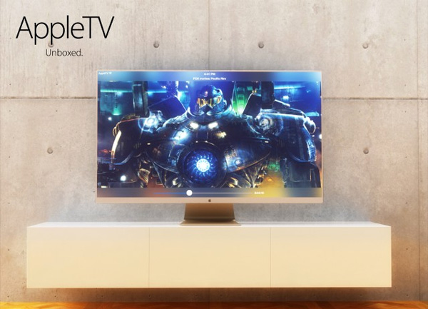Apple TV Concept by Martin Hajek