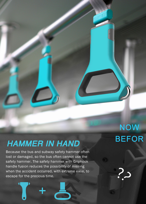 Hammer In Hand – Emergency Handle by Shi Qiang