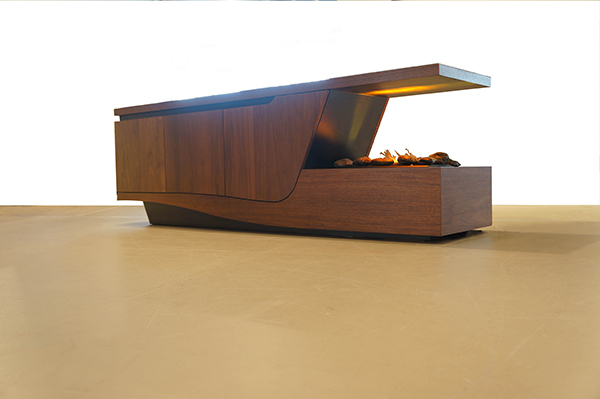 Esquilino - Fireplace Cabinet by Davide Tonizzo