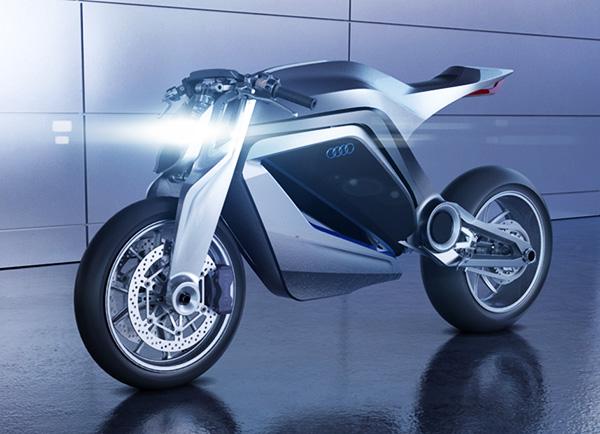 Audi Motorcycle - Ducati by Thibault Devauze