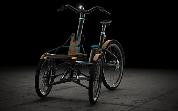 KAYLAD-e Trike by Dimitris Niavis