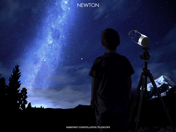 Newton Astronomical Telescope by Erik Edward Kim