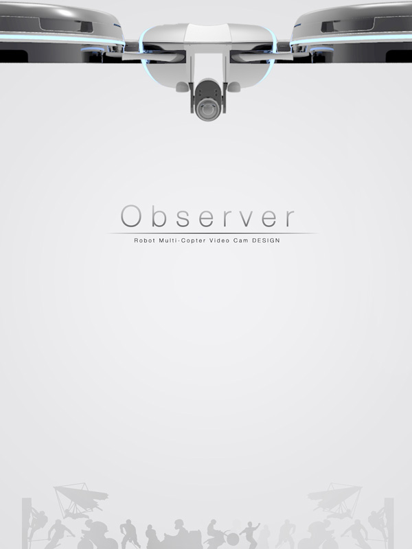 Observer – Camera Concept by Jinho Kwon, Minhyun Choi, Seunghun Shin & Hyeonwoog Yoon