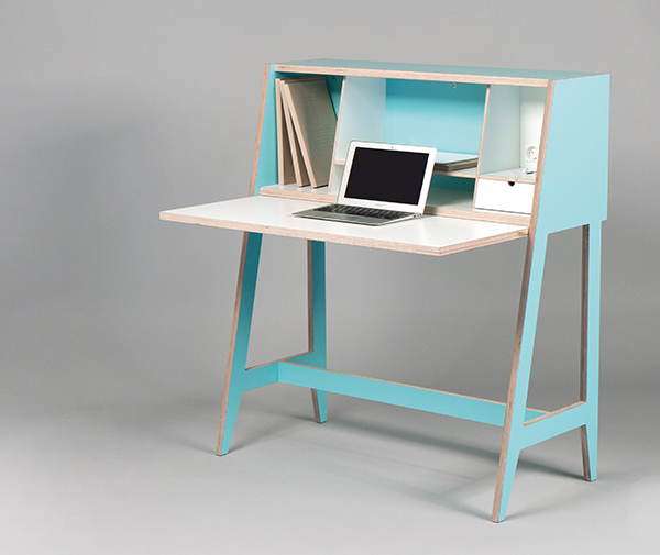 modern multifunctional desk yanko design. Black Bedroom Furniture Sets. Home Design Ideas