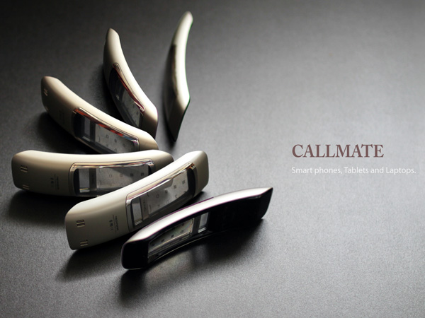 Callmate - Bluetooth Handset for Smartphones, Tablets and Laptops by Park Sang-nam