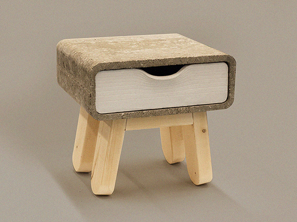Metropolis - Opposing Bedside Tables by Brian Khouw