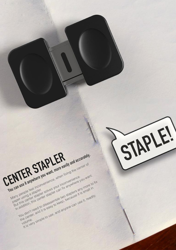 Center Stapler by Daehyun Kwon