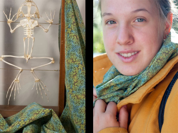 Valentine's Day Giveaway: Win a Biology-Inspired Scarf, Bow Tie, or Necktie by Cerebella Design