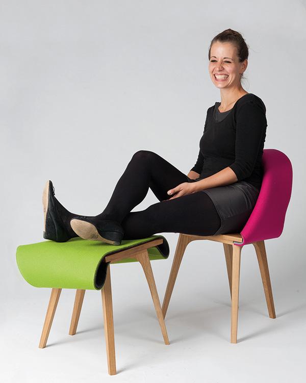 Nuno Chair by Emelia Lucht