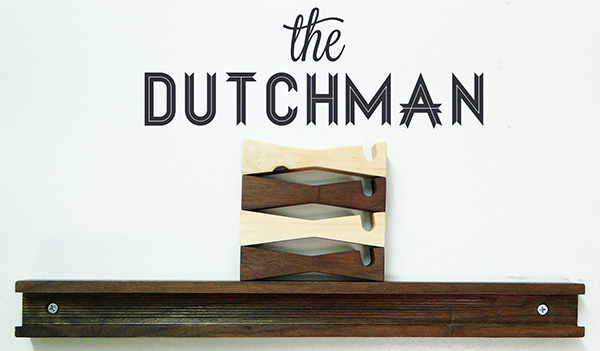 The Dutchman - Shelving by The Wood Studio