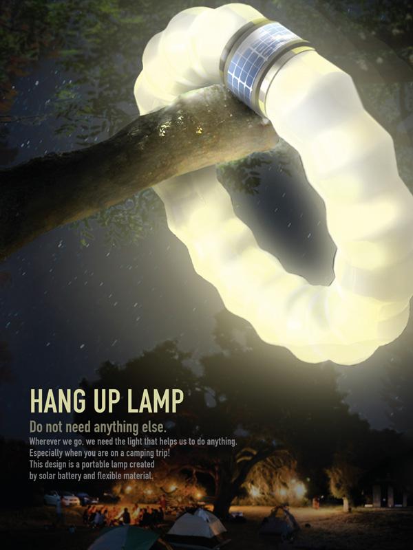 Hang Up Lamp by Jihyun Seo, Youjung An & Dayoung An