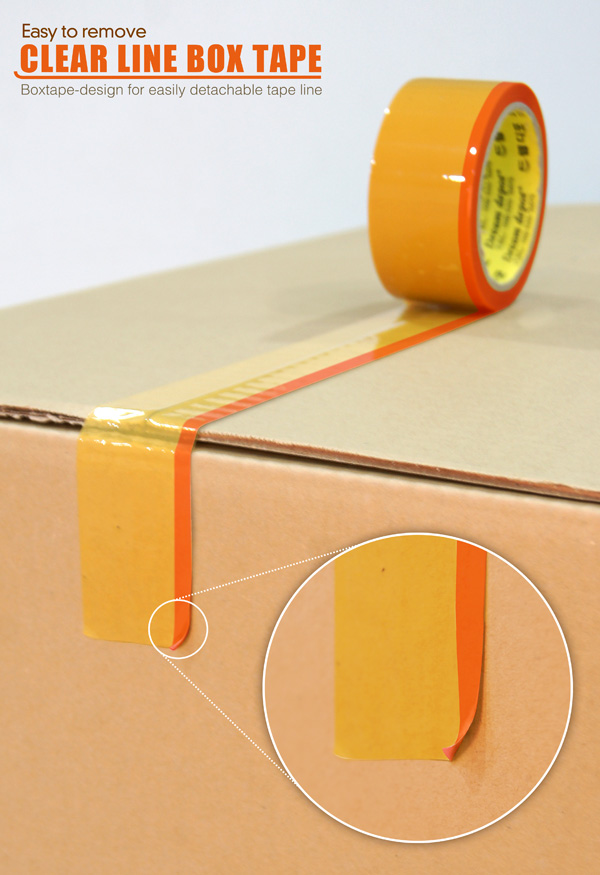 Box Tape – Packaging Tape by Jin Young Park & So Young Park