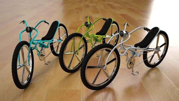 Bikes by Oscar Navarro