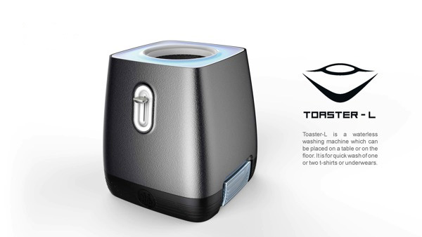 TOASTER-L Waterless Washing Machine by Hongmin Jin