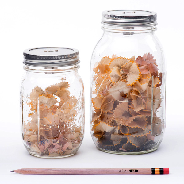 Sharpener Jar – Measure Your Creativity Jar by Craighton Berman