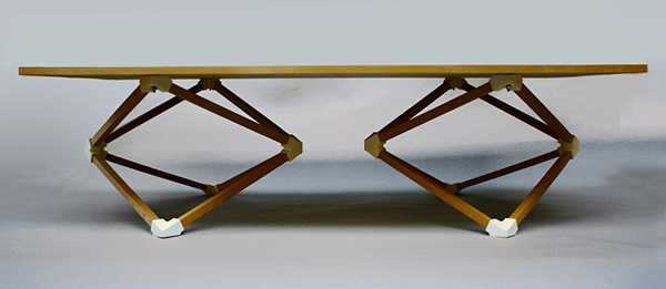 Hedron - Table by Benjamin Migliore